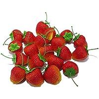 かわいい イチゴ 食品サンプル 20個セット ケーキ屋さん 果物屋さんの ディスプレイなどにも