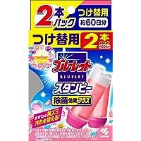 ブルーレットスタンピー 除菌効果プラス トイレタンク芳香洗浄剤 詰め替え用 フローラルアロマの香り 56g 約60日分