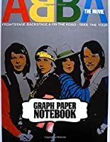 Notebook: ABBA Swedish Pop Group Music Band Worldwide Greatest Hits (ABBA Gold) Mamma Mia!, Primary Copy Book Supplies Student Teacher Daily Creative Writing, Teenage Girls Boys Kids Adults Elementary Soft Cover Paper 8.5 x 11 Inches 110 Pages