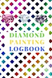 Diamond Painting Logbook: A Greenish Yellow Crystal Color Theme DMC Chart Gemstones Cute Efficient Inventory Log, Notebook, Tracker, Diary, Organizer and Prompt Guided Journal with Picture Photo Space to Keep Record of your DP Art Canvas Projects