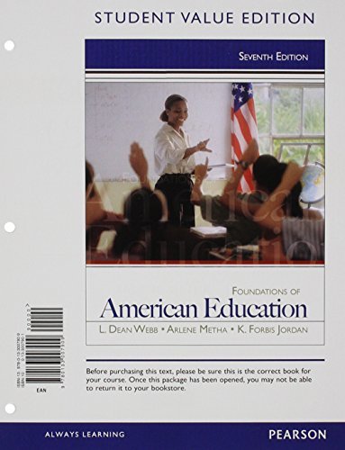 Download Foundations of American Education, Student Value Edition 0133007901