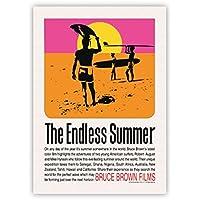 サーフィン映画A3ポスター・The Endless Summer (エンドレスサマー)・オリジナル