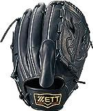 ゼット(ZETT) 硬式野球 プロステイタス グラブ (グローブ) ピッチャー用 ナイトブラック(1900N) 右投げ用 日本製 BPROG610