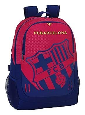 バルセロナサッカー バックパック 公式ライセンス スペインリーグ 最高品質 32x16x44 Cm 赤と青