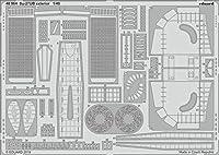 エデュアルド 1/48 Su-27UB 外装エッチングパーツ (ホビーボス用) プラモデル用パーツ EDU48964