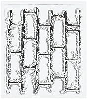 Prima Marketing VV2X2-60896 Vintage Vanity Clear Stamp, 2.2 by 2.5-Inch, Bricks