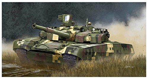 トランペッター 1/35 ウクライナ陸軍 T-84BM 主力戦車 プラモデル 09512