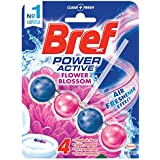 Bref Power Active Flower Blossom, Rim Block Toilet Cleaner, 50g