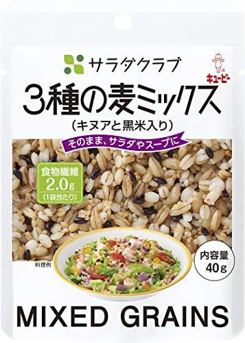 サラダクラブ 3種の麦ミックス(キヌアと黒米入り) 40g×10個