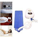 全身 スパ バブリング バスタブ サーマル マッサージャー 機械、 電動 空気ポンプ、 防水 気泡 浴 浴槽 マッサージ マット と リモコン 調整可能 バブル 設定