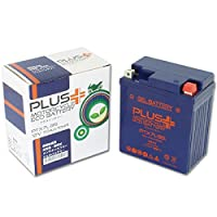 プラスバッテリー PTX7L-BS シールド式 ジェルタイプ バイク用 7L-BS (互換:YTX7L-BS/GTX7L-BS/FTX7L-BS)