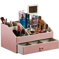 WTL かご?バスケット 革の収納ボックスの家のデスクトップの破片の収納ボックス (色 : B, サイズ さいず : 30*20*16.5cm)