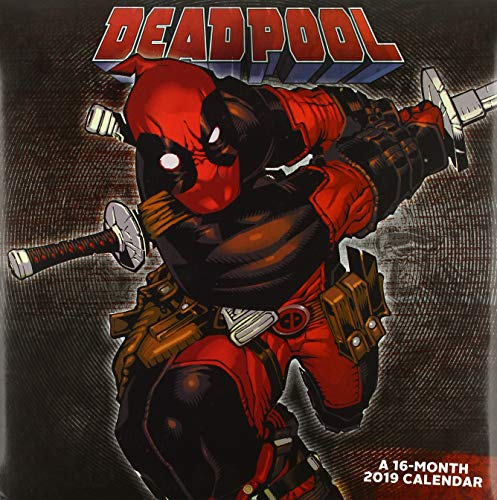 Deadpool 2019 Calendar