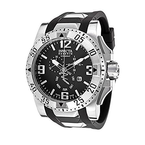 [インヴィクタ]Invicta 腕時計 Excursion Analog Display Swiss Quartz Black Watch 18202 メンズ [並行輸入品]