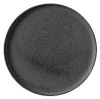 業務用食器 黒滴 丸浅口 切立皿 7.5 18600845