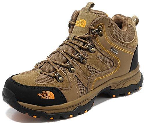[T H E - N O R T H - F A C E]ザ ノ- ス フェ- ス トレッキングシューズ 登山靴 ハイカット スニーカー (EUR42(26-26.5cm), ブラウン) [並行輸入品]