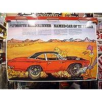ロードランナー ポスター PLYMOUTH ROAD RUNNER ポスター