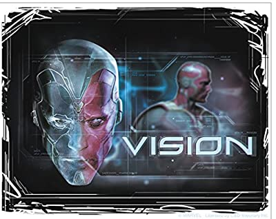 THE AVENGERS 2 Movie Age Of Ultron Vision, Officially Licensed Marvel Artwork, 4