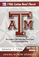 1986 Cotton Bowl: Texas A&M Classics [DVD] [Import]