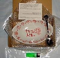 【ひぐらしのなく頃に解】 知恵先生のお中元セット 特製カレー皿 & 特製スプーン DVD 全6巻連動購入 特典