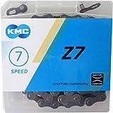 KMC Z7 6,7,8スピード用チェーン 116リンク ミッシングリンク付 並行輸入品 … (グレー)