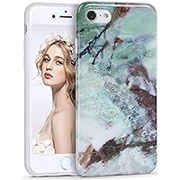 Imikoko iPhone8 ケース iPhone7 ケース 大理石 iphoneケース マーブル おしゃれ かわいい 耐衝撃 人気 tpu