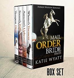 Mail Order Bride: Box Set #2: Inspirational Historical Western (Pioneer Wilderness Romance Box Set Series) by [Wyatt, Katie]