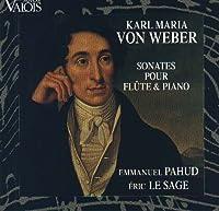 Weber;Sonatas Flute & Piano