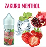 Vape Fuel Japan Zakuro Menthol 30ml E-Juice/E-liquid 電子たば用リキッド ベイプ用リキッド vape用リキッド RDA/RTA用リキッド スターターキット用 リキッド