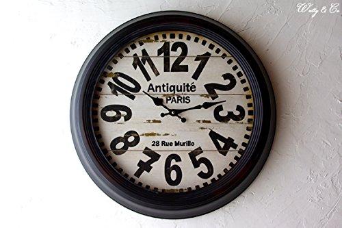 RoomClip商品情報 - STEEL RIM CLOCK 47cm Antique de Paris
