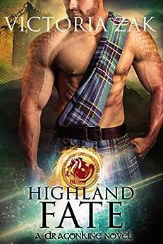Highland Fate (Guardians of Scotland Book 3) by [Zak, Victoria]