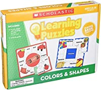 Scholastic 9780545302234 Hands-On Learning Colors and Shapes Puzzles [並行輸入品]
