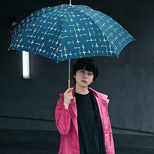 w.p.c(WPC) 【長傘】【軽くて丈夫で持ちやすい】クラッシュチェック (雨傘/レディース)【ネイビー/58】