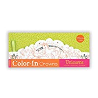 Unicorns Color-In Crowns