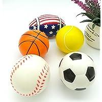 YChoice 可愛い赤ちゃんのおもちゃ ギフト ベビー ソフト 愛らしい ハンドキャッチボール おもちゃ ギフト 乳児 魅力的 スモール PU ボール