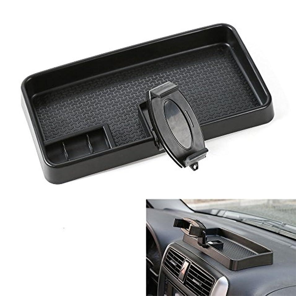 履歴書エコースモッグJicorzo - Car Multi-Mount Bracket Mobile Phone GPS Mount Cradle Holder Dashboard Storage Box Card Container For...