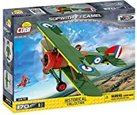 COBI Historical Collection Sop with F.1 Camel Plane Building Kit Green [並行輸入品]