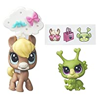 Littlest Pet Shop Pet Pawsabilities Chevallie Tanwood and Breeley Buggles [並行輸入品]