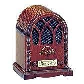 オルゴール ミニアンティーク ラジオ カノン