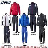 ASICS(アシックス)トレーニングジャージ 上下セット(XA607N/XA657N) (L, ブルー(45/45))
