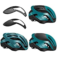 ROCKBROS(ロックブロス)ロードバイク ヘルメット 自転車ヘルメット 大人 超軽量 高剛性 通気 サイズ 調整可能(頭囲:57-62㎝)