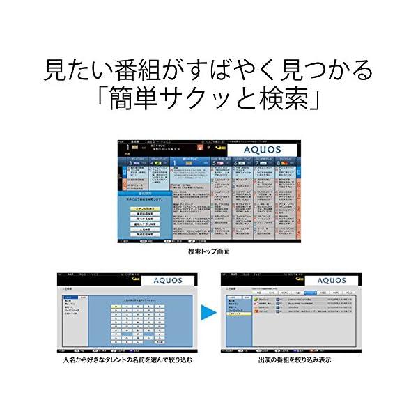 シャープ 32V型 液晶 テレビ AQUOS ...の紹介画像6