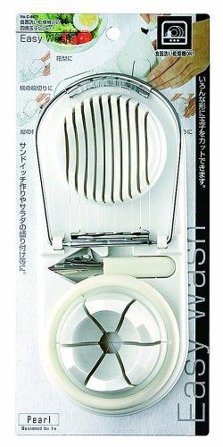 パール金属 Easy Wash 食洗機対応 四徳玉子切セット 【日本製】 C-8671