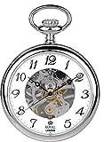 [ロイヤルロンドン]ROYAL LONDON 懐中時計 ポケットウォッチ オープンフェイス 手巻き 90002-01 【正規輸入品】