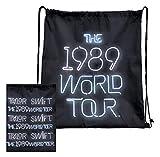 TAYLOR SWIFT - THE 1989 WORLD TOUR BLACK NEON DRAWSTRING BAG/ バッグ/ メンズ 【公式 / オフィシャル】