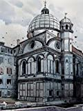 ヴェネツィアI - アーカイブ紙上のファインアートプリント - 小 : 60 cms X 80 cms