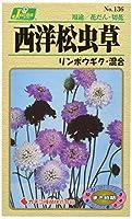 カネコ種苗 園芸・種 KS100シリーズ 西洋松虫草 リンボウギク・混合 草花100 136