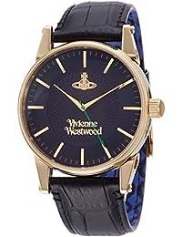 1493712dee [ヴィヴィアンウエストウッド]Vivienne Westwood 腕時計 Finsbury ブルー文字盤 ブラック ...