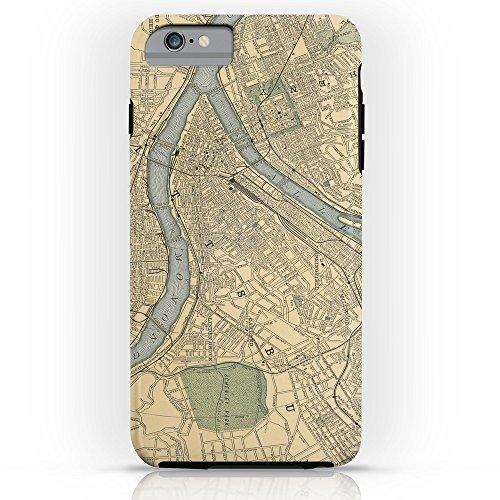 society6ヴィンテージマップのピッツバーグPA ( 1891) Tough Case iPhone 6Plus