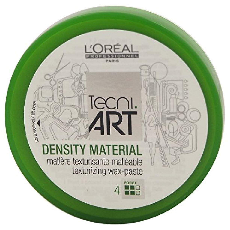 せせらぎ反応する授業料Loreal Tecni Art Density Material Force 4 Texturizing Wax Paste 100ml [並行輸入品]